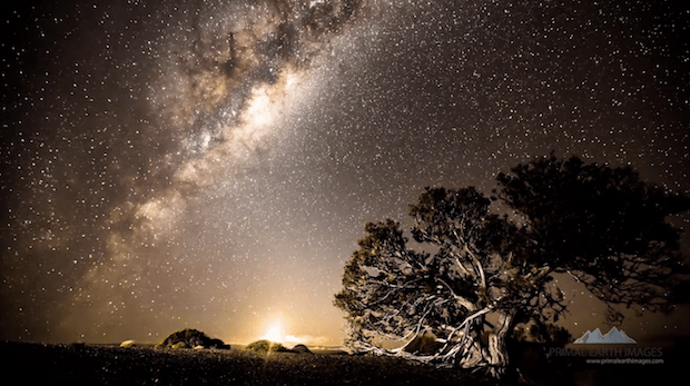 Breathtaking Time-Lapse Shot Over Six Months on New Zealand's North Island