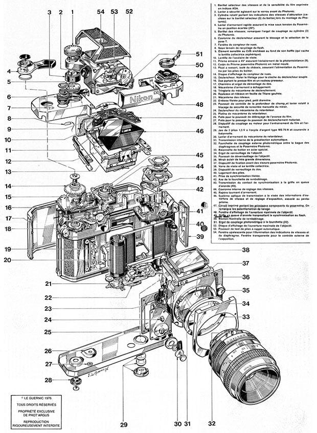 old computer diagram