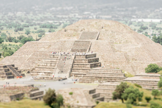 Teotihuacan, Mexico by Richard Silver
