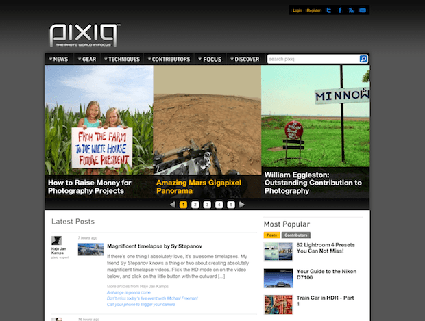 Photography Website Pixiq Abruptly Shut Down, Leaving Contributors in the Dark pixiq3