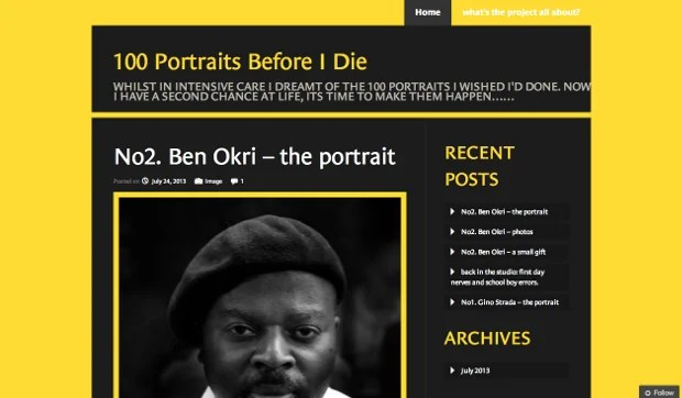 Photographer Gets a Second Change at Life, Embarks on a 100 Portrait Journey 100portraits1