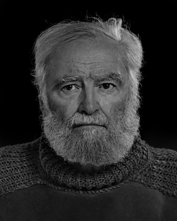Portraits of the Bearded Men in an Ernest Hemingway Look Alike Contest DENIS GOLDEN 0025 1