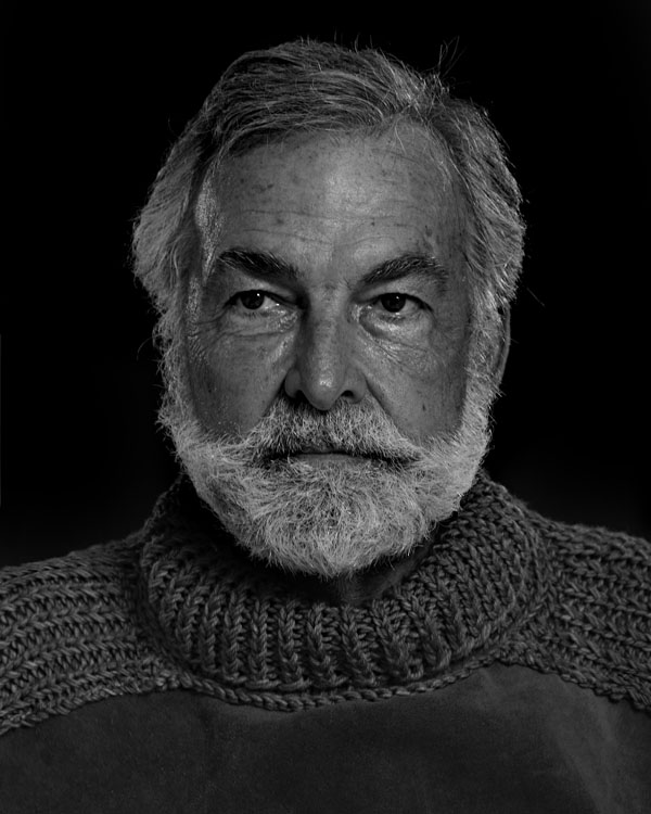 Portraits of the Bearded Men in an Ernest Hemingway Look Alike Contest RICHARD FILIP 1409 1