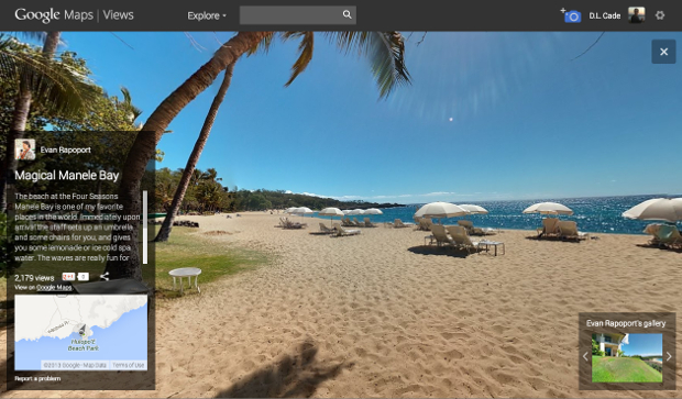 Googles New Views Site Gives Android Users a Place to Share Photo Spheres views3