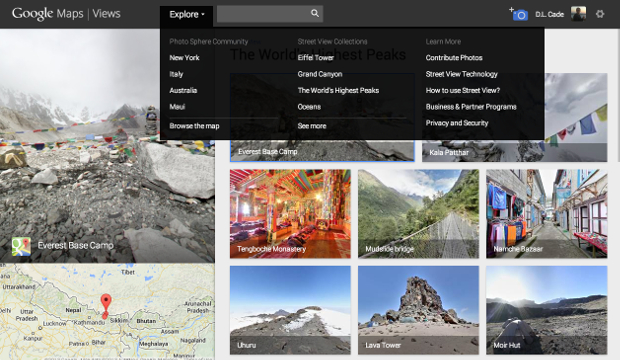 Googles New Views Site Gives Android Users a Place to Share Photo Spheres views4