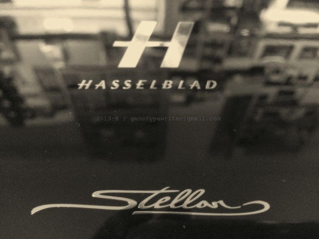 A Review of the Hasselblad Stellar Hasselblad Stellar box logo