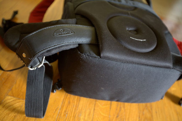 Transport a Tripod by Adding a Strap to the Bottom of a Camera Backpack KpclaNNh