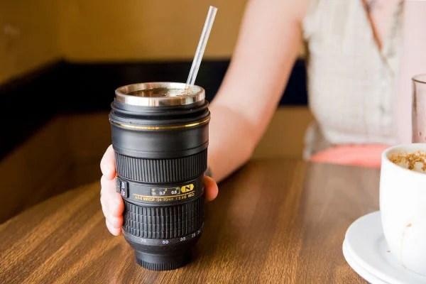 13 Photography Gadgets We Didn't Need nikon lens mugs