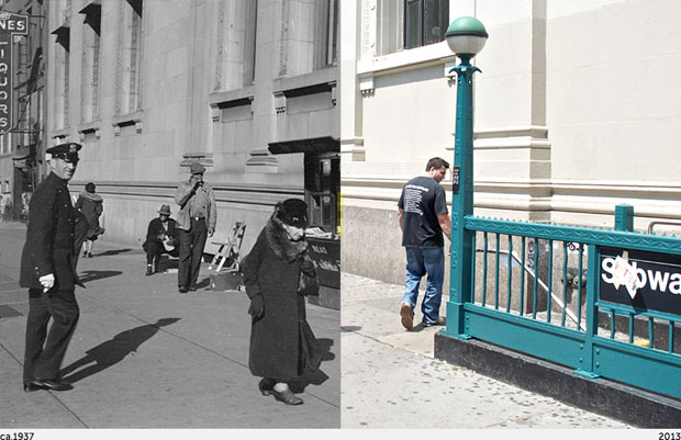 Then and Now Photos of New York City  nycbeforeafter 4