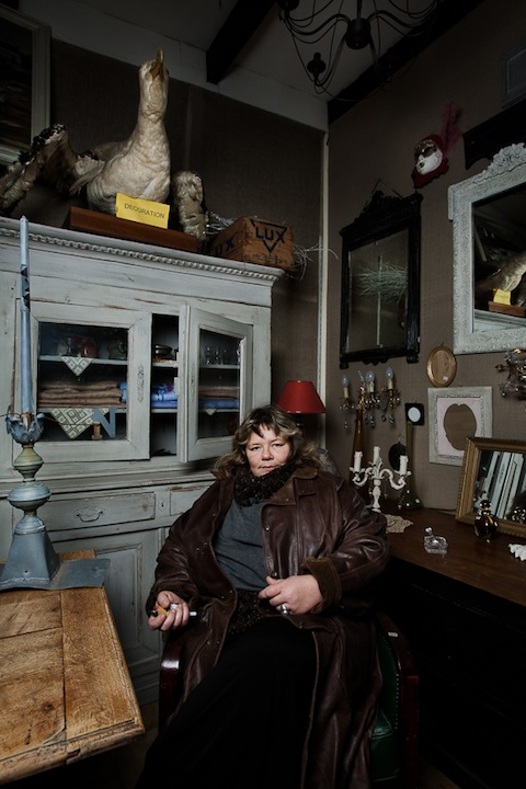 Portraits of Shopkeepers and Their Shops at the Saint Ouen Flea Market in Paris puces13