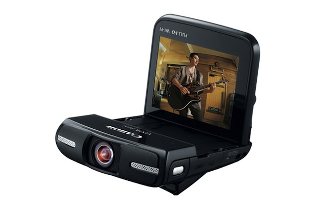 Canon Brings Back the Pocket Camcorder with the WiFi Enabled Vixia Mini vixia2