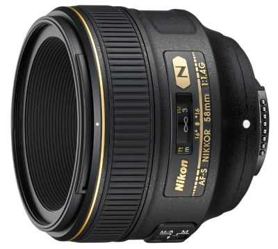 Nikon Introduces a New 58mm f/1.4G Lens, Harkens Back to the 58mm f/1.2 of Old