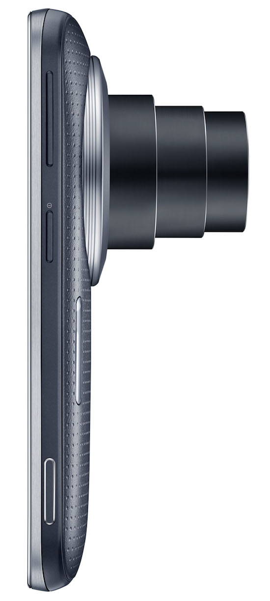 Galaxy K zoom Charcoal Black 07 Samsung Unveils the New Galaxy K Zoom: A Camera Phone Worthy of the Name