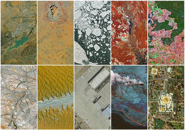 Airbus Iphone Wallpaper Aerial Wallpapers Beautiful Satellite Photos Turned Into