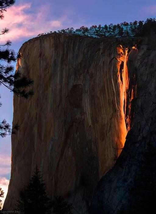 Yosemite Lava Falls Wallpaper Photos Of Firefall When A Yosemite Waterfall Looks Like