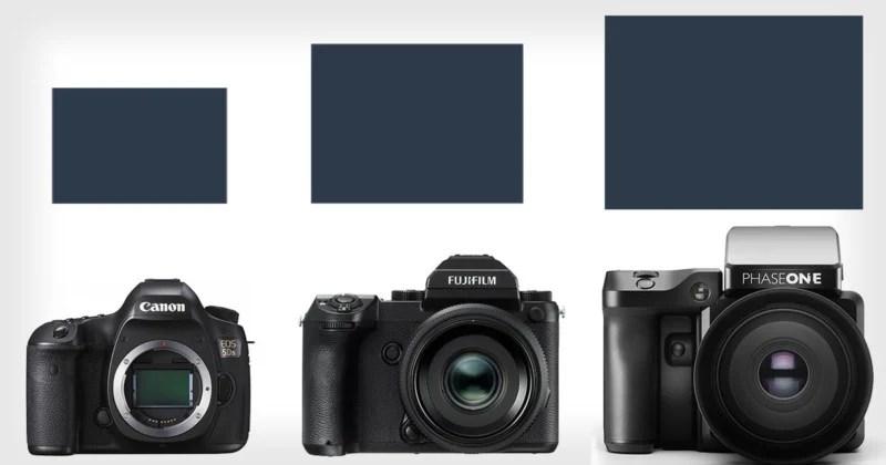 This is How Fuji\u0027s New Medium Format Sensor Size Stacks Up