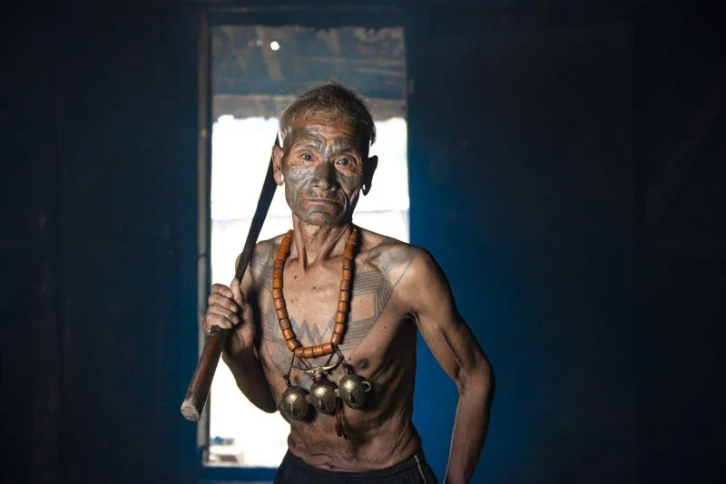 Portraits of the Konyak \u0027Headhunter\u0027 Tribe in India