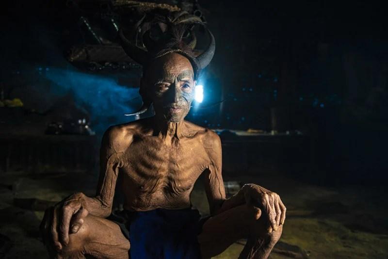 Portraits of the Konyak \u0027Headhunter\u0027 Tribe in India