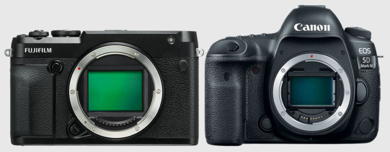 Full Frame Mirrorless Vs Dslr How The Fujifilm Gfx 50r Compares In Size To Popular Cameras