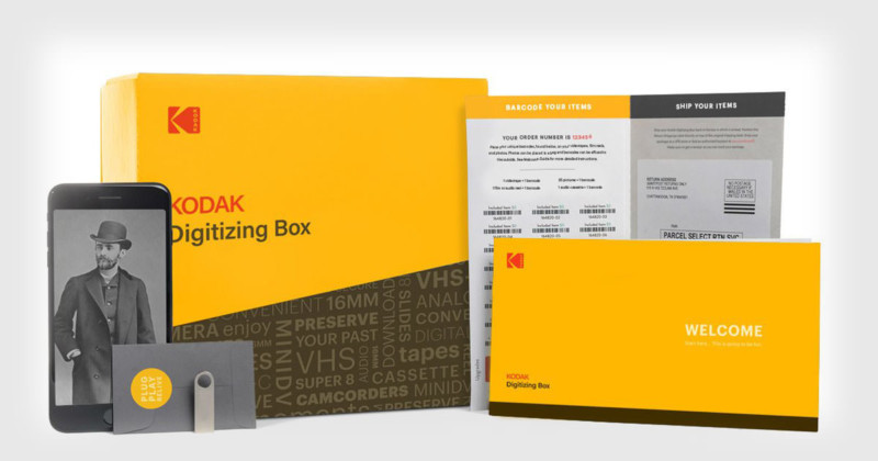 Kodak\u0027s New Digitizing Box is a Simple Way to Bulk Digitize Film and