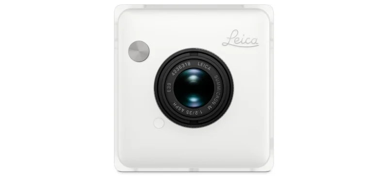 An Instax Camera With A Leica M Lens