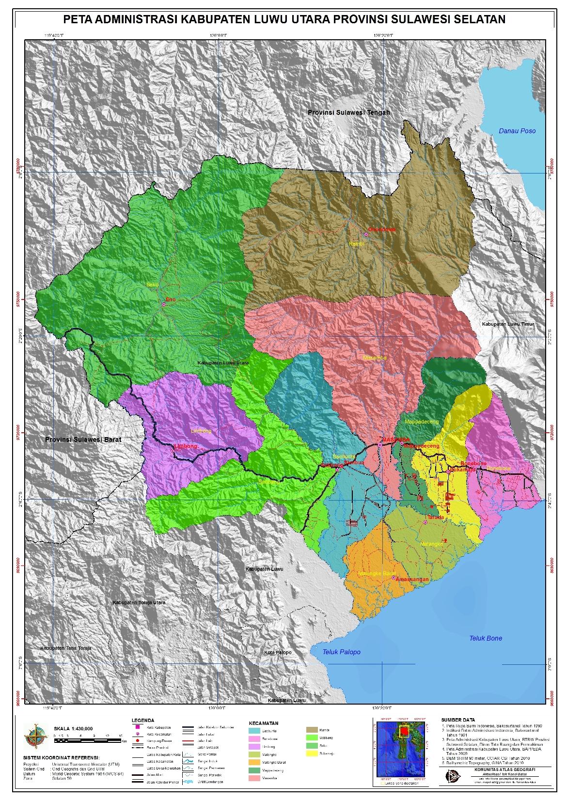 Tes Cpns Di Bengkulu Utara Lowongan Kerja Pt Pertamina Phe Wmo Info Cpns 2016 Peta Administrasi Bengkulu Utara