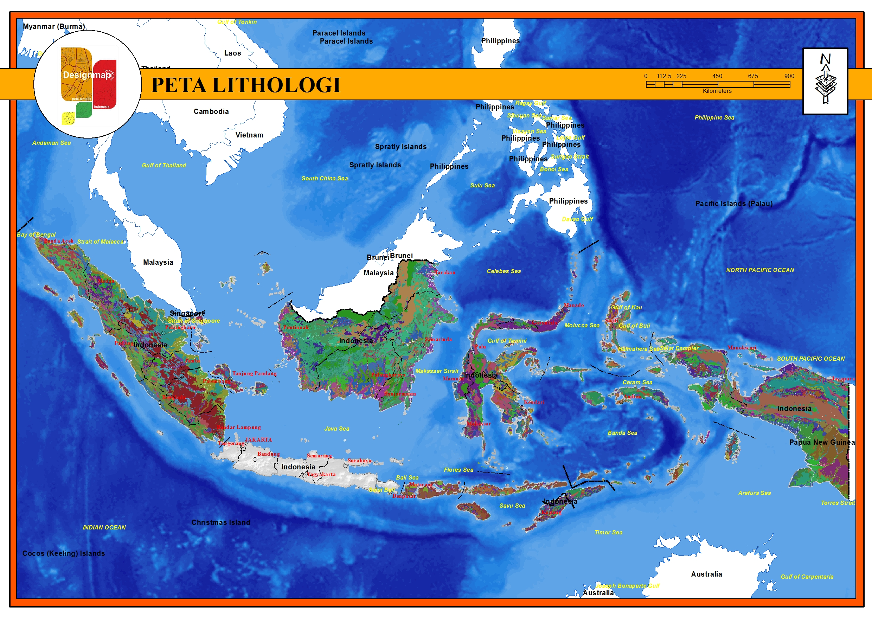 Malut Post Epaper Malut Post Peta Litologi Peta Tematik Indonesia