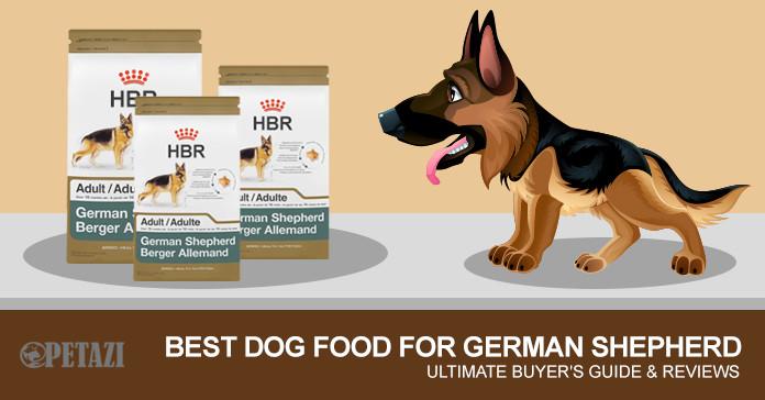Best Dog Food for German Shepherd 2017 - The Ultimate Buyer\u0027s Guide