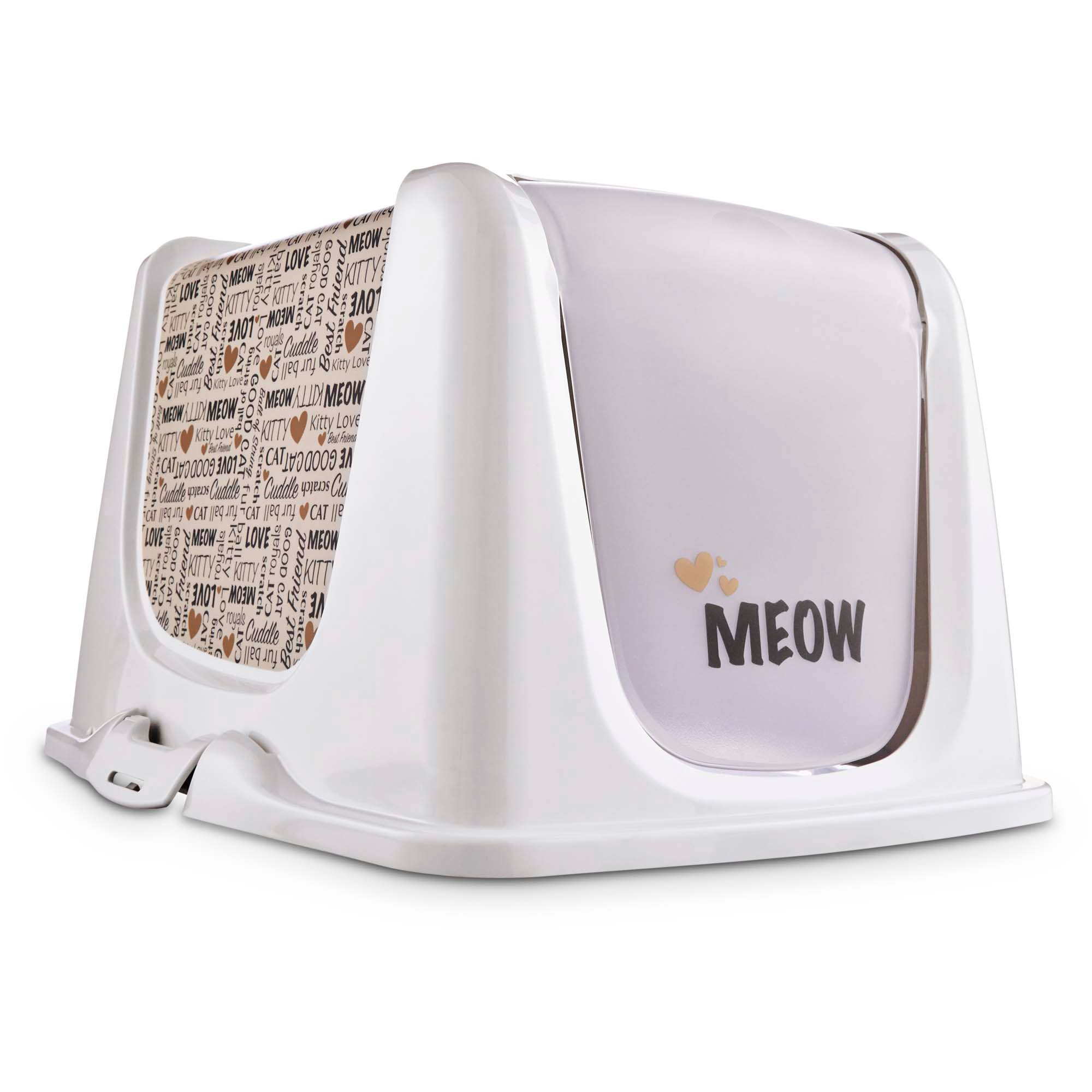 Granule Lg So Phresh Meow Cat Litter Box Privacy Hood Petco