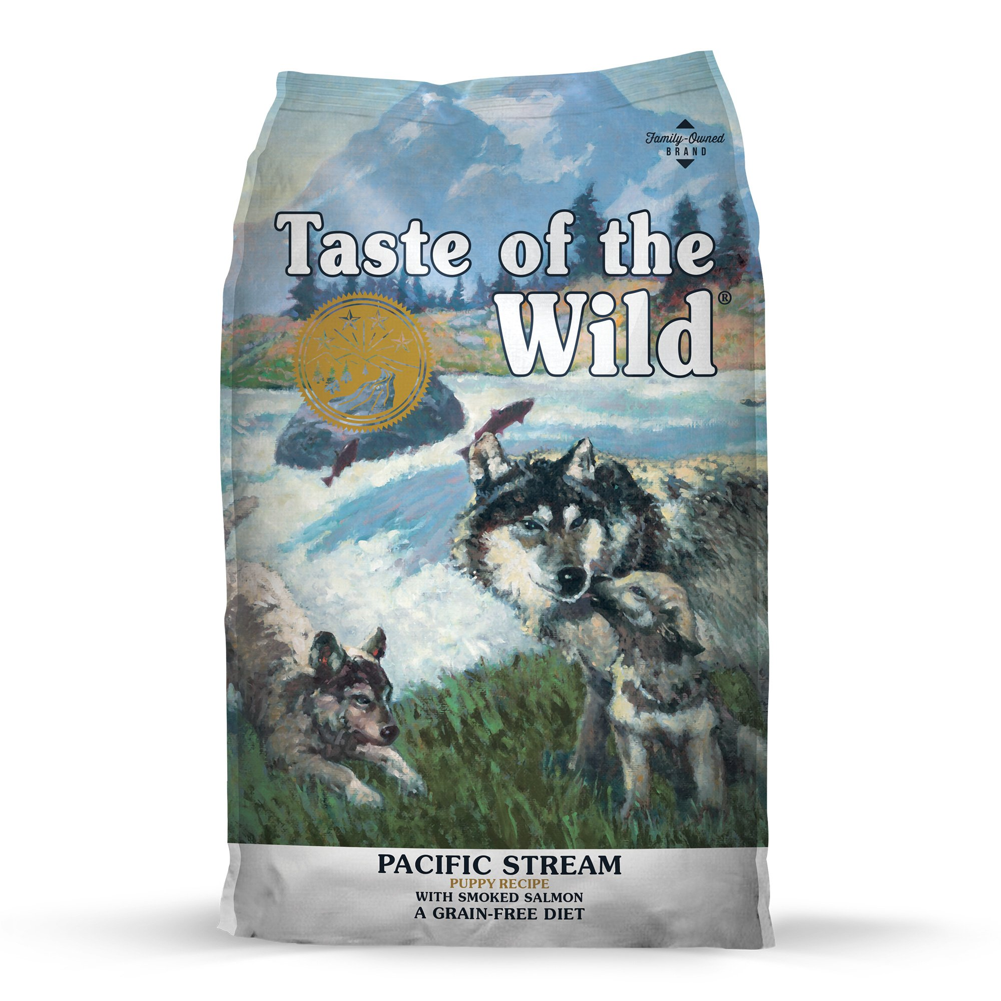 Kg A Libras Taste Of The Wild Pacific Stream Grain Free Smoked Salmon Dry Puppy Food Petco
