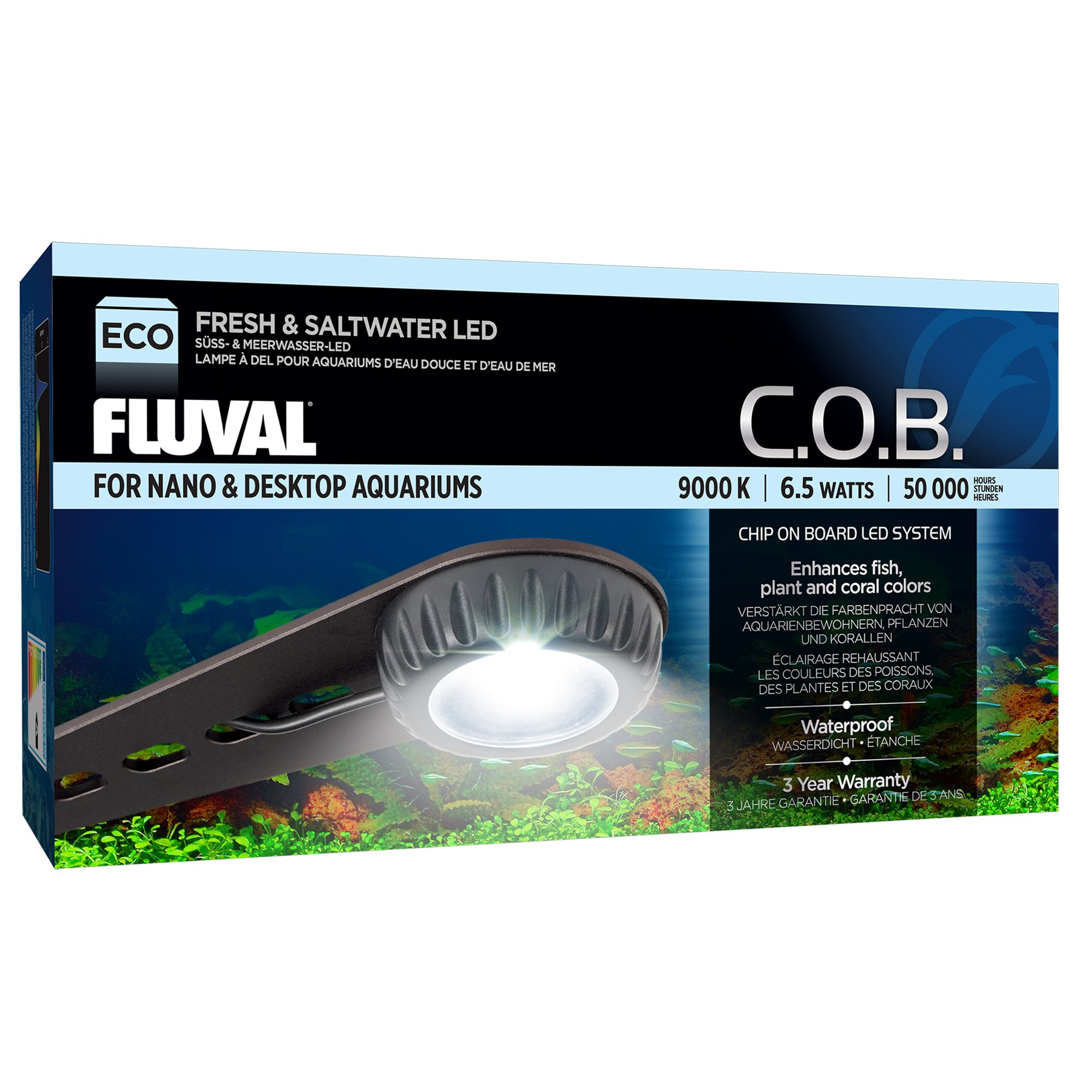 Led Verlichting 50 Lampjes Fluval Nano Fresh Saltwater Led Lamp Petco