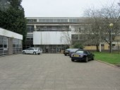 Front of Exeter College of Art and Design