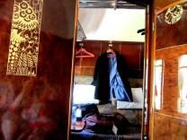 Coat on train