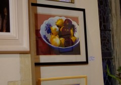 'Onions' oil painting by Peter Bright