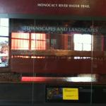 A display about the Monocacy River Water Trail at the Tourism Council of Frederick County visitor center. (Photo / Peter Haldis)