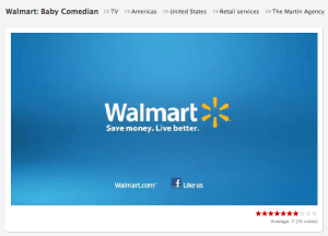 Walmart  Baby Comedian   Ads of the World™