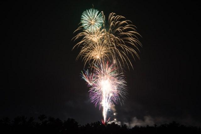 Grand Wailea Fireworks New Year 2014