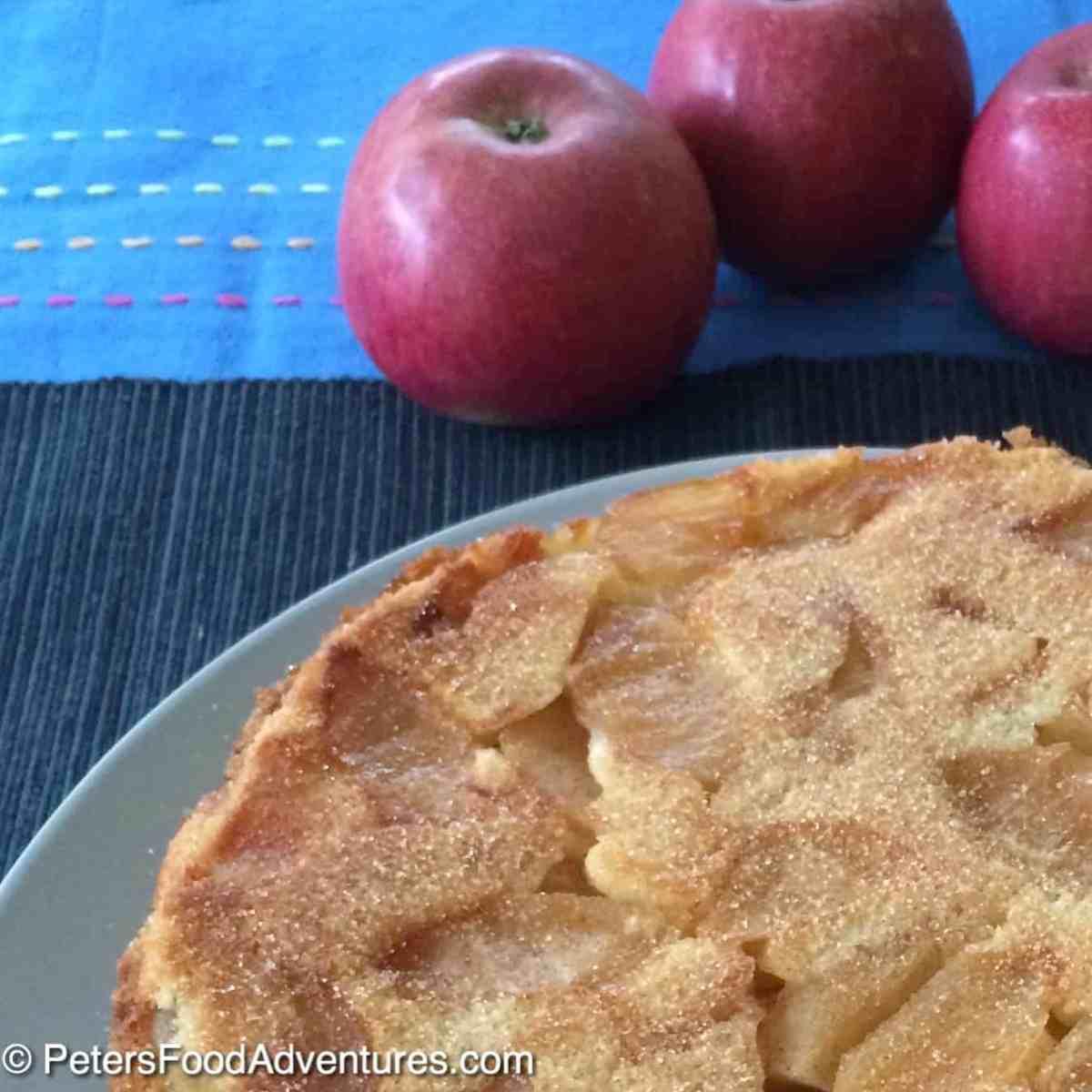 Apple Sharlotka Cake (Шарлотка)