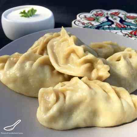 Manti Steamed Dumplings Recipe (Манты)