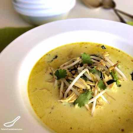 Easy Tom Kha Gai (Thai Coconut Chicken Soup)