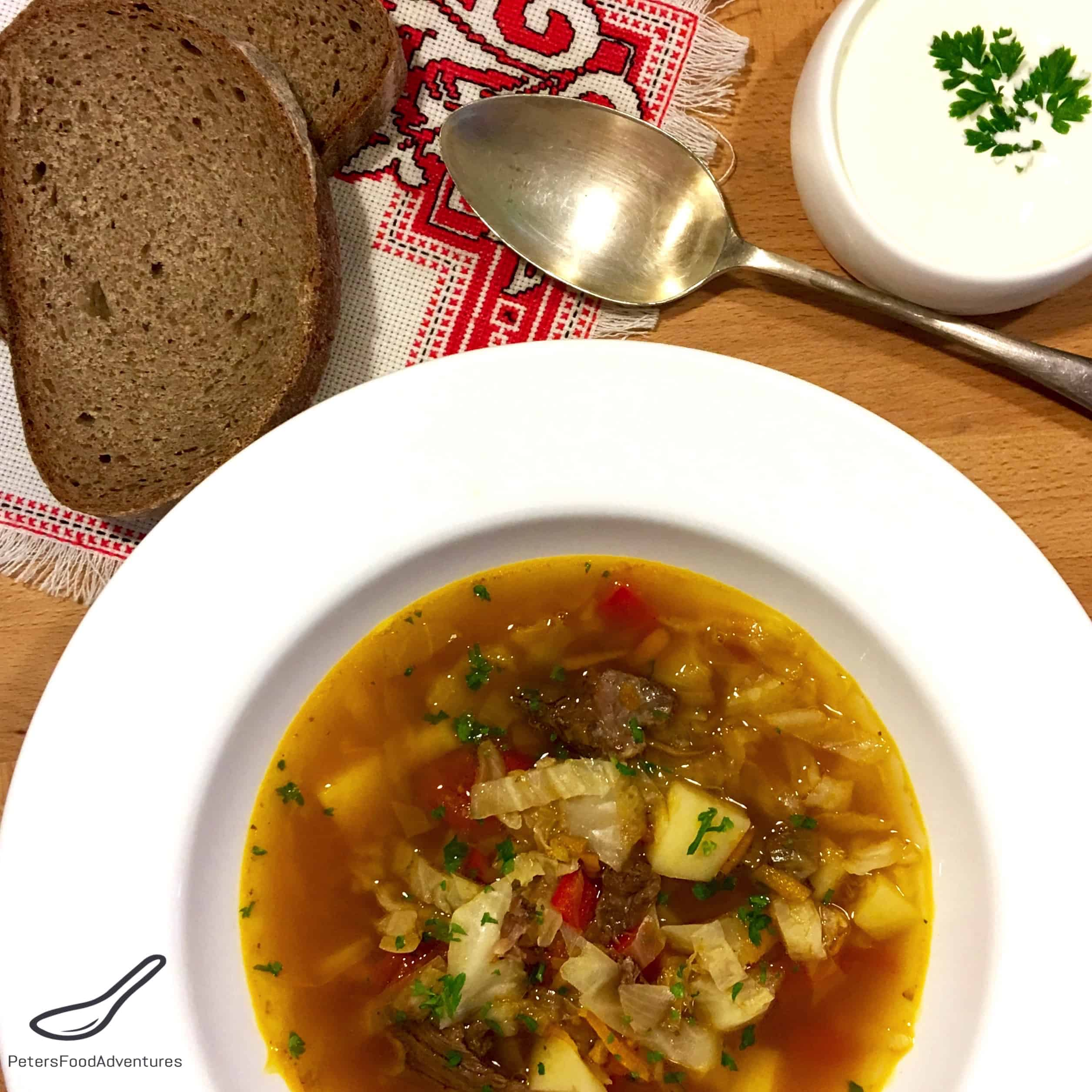 ... warming autumn favourite. Shchi (Щи) - Russian Cabbage Soup Recipe