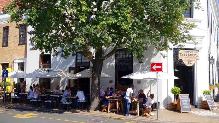 Stellenbosch - Restaurant Schoon De Companje