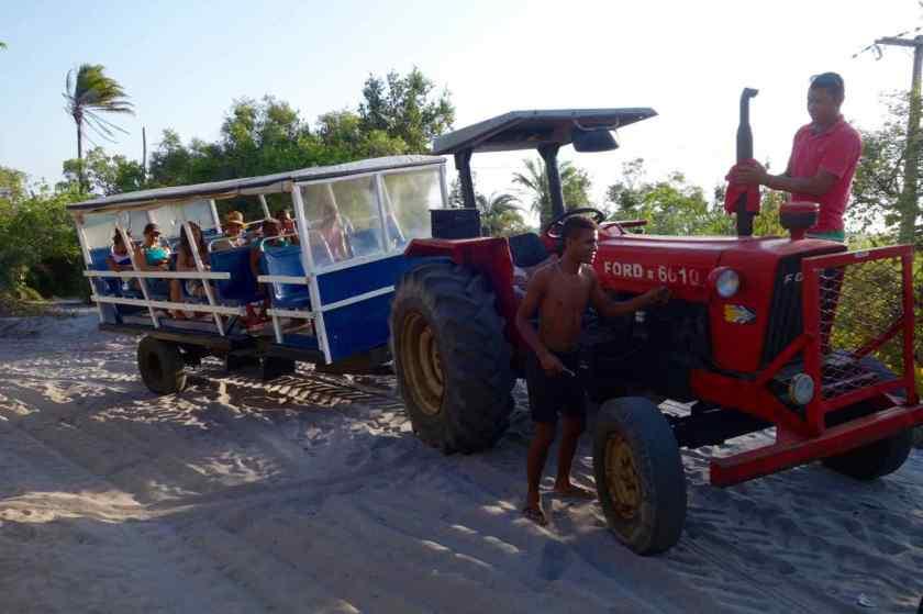 Öffentlicher Nahverkehr auf der Insel Boipeba