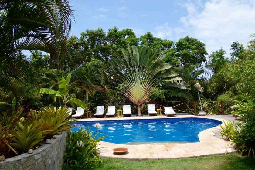 Brasilien Boipeba, Pool der Pousada Mangabeiras