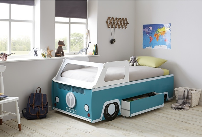 Retro Style Room With The Camper Van Bed Petit Small