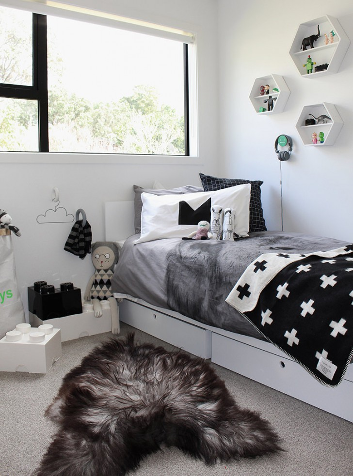 Fall Rug Wallpaper 10 Great Kid S Bedrooms In Grey Tones Petit Amp Small