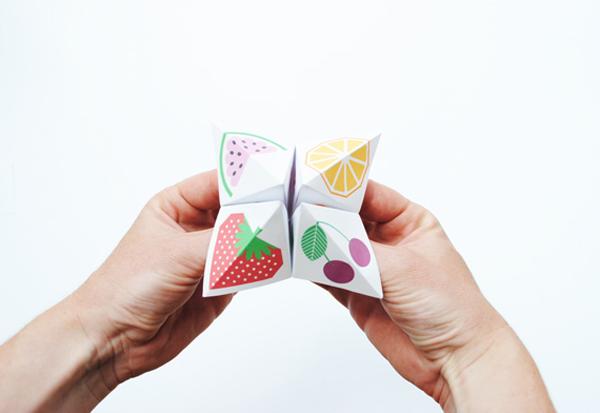 Diy Origami Fortune Teller Petit Small