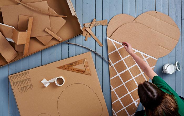 4 Brilliant Diy Toys Made Of Ikea Cardboard Boxes Petit