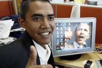Sosie d'Obama