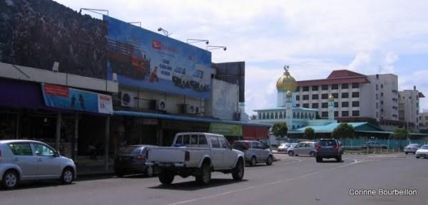 Tawau (Bornéo, Malaisie, juillet 2009).
